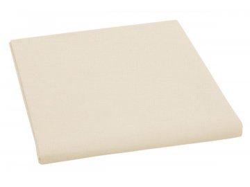 Plátěné prostěradlo plachta 150x230 cm - béžová