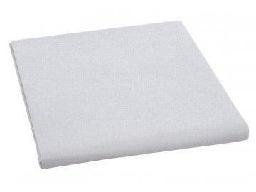 Plátěné prostěradlo plachta 150x230 cm - světle šedá