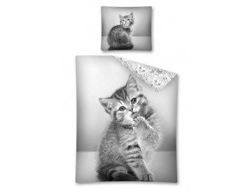 Povlečení Sweet Animals kotě 140x200, 70x80
