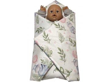 SDS Rychlozavinovačka pro panenky Hrošíci baby Bavlna, výplň: Polyester, 1x 60x60 cm