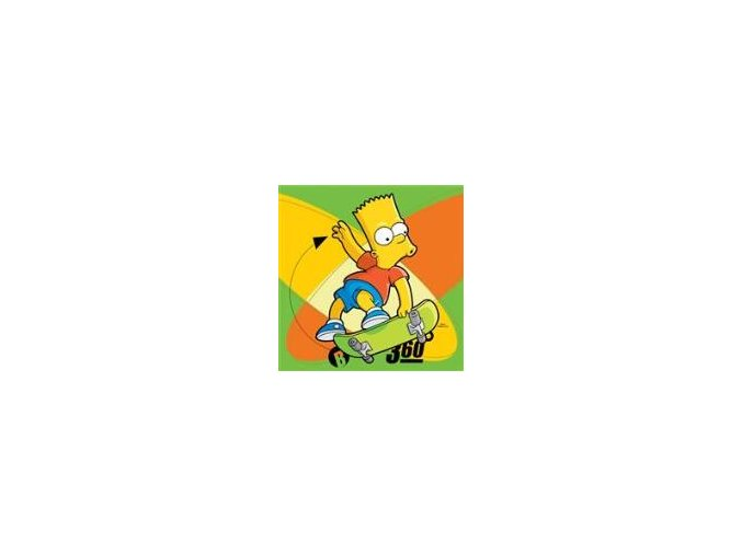 Polštářek Simpsons Bart 2015 40x40 DOPRODEJ