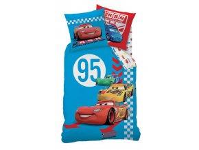 Povlečení Cars Red Tire 140/200 DOPRODEJ 1 KUS