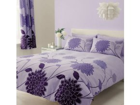 Bavlněné ložní povlečení - Valerie fialová