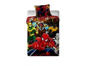 Povlečení Spiderman Hero 140/200 DOPRODEJ 1 KUS