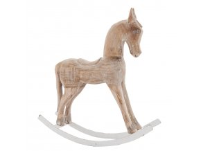 Dřevěny houpací kůň- 40*11*42 cm