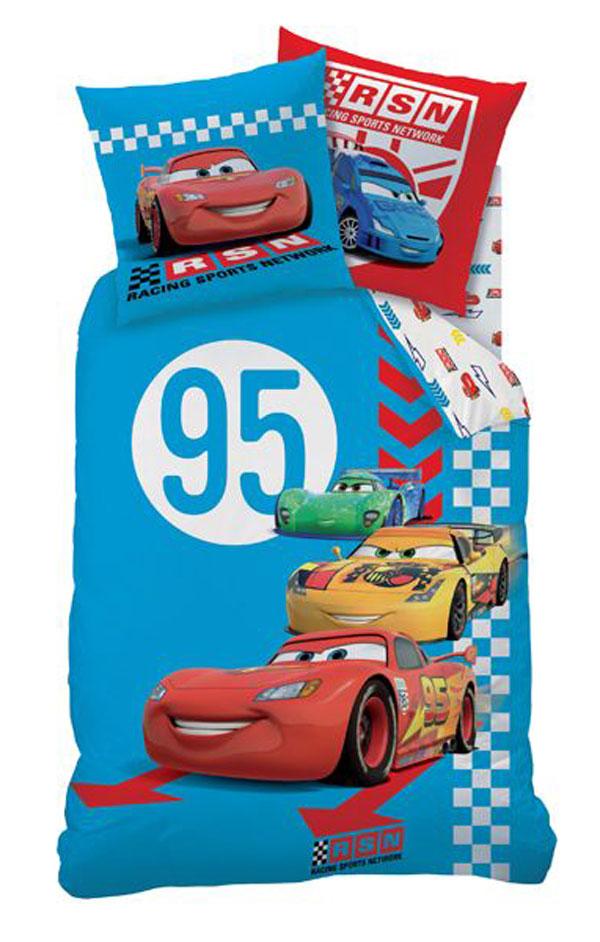 Povlečení Cars Red Tire 140x200 70x90