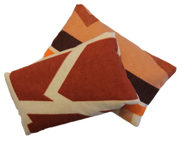 Povlečení Damašek Hřejivý polštářek s ovsem Barva: Flanel - hnědá variace