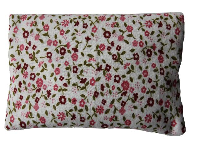 Povlečení Damašek Hřejivý polštářek s ovsem Barva: Flanel - růžová kytička
