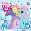 Magický ručníček My Little Pony modrý 30x30cm