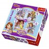 Puzzle Princezna Sofie První 4v1