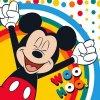 Magický ručníček Mickey Happy 30x30 cm