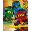Halantex Fleece deka Lego Ninjago  Polyester, 100/150 cm
