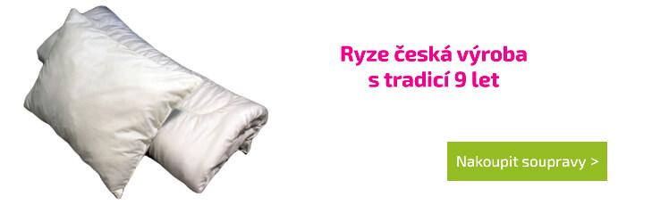 Ryze česká výroba s tradicí 9 let