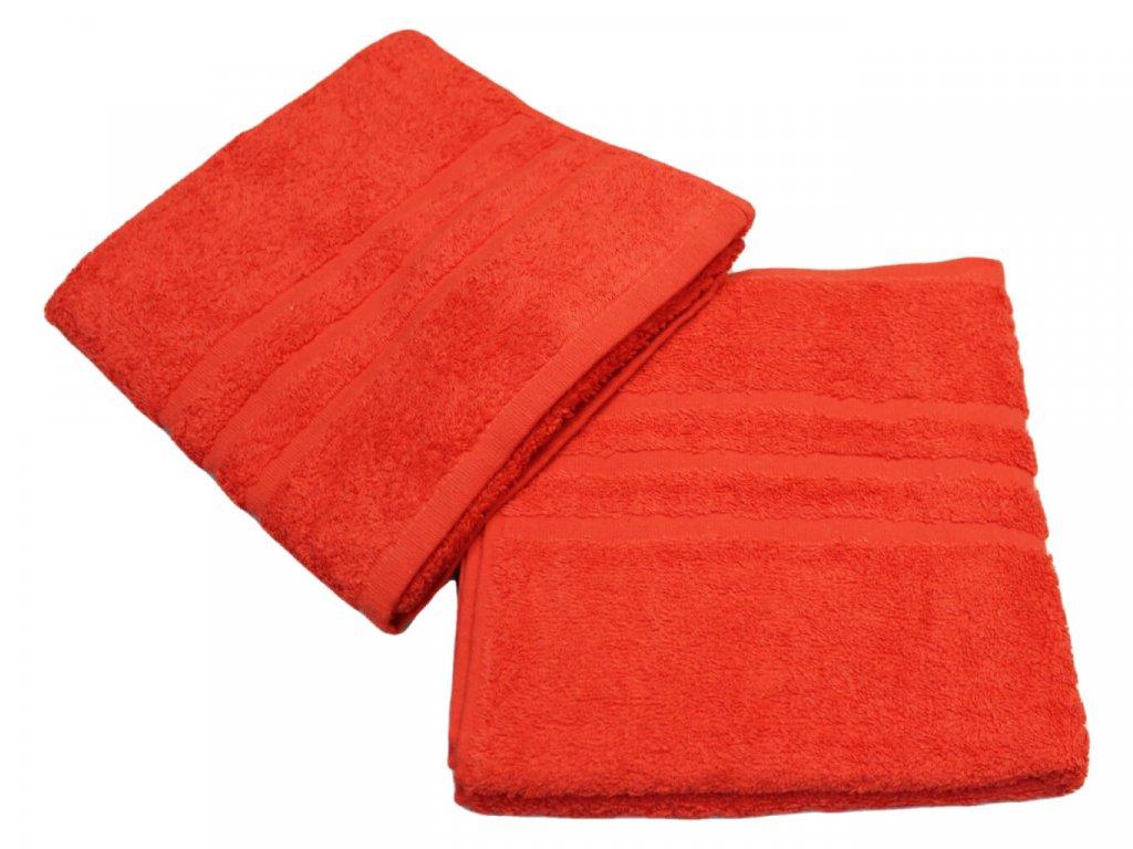 Ručník pro paní učitelky 50x100 cm Červený