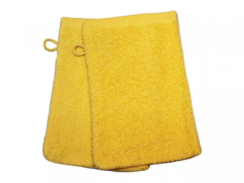 Froté žinka 15x24 cm pro mateřské školy Žlutá 1