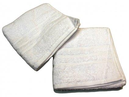 Ručník pro paní učitelky 50x100 cm Bílý