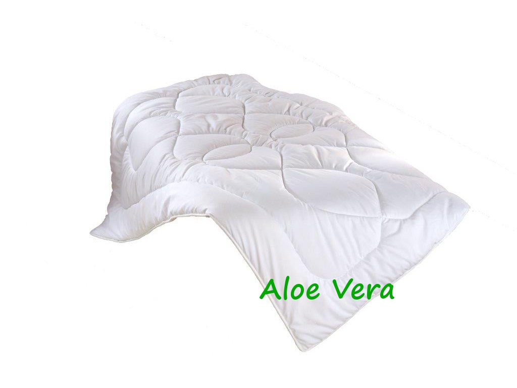 Prodloužená přikrývka Aloe Vera 140x220cm celoroční 935g