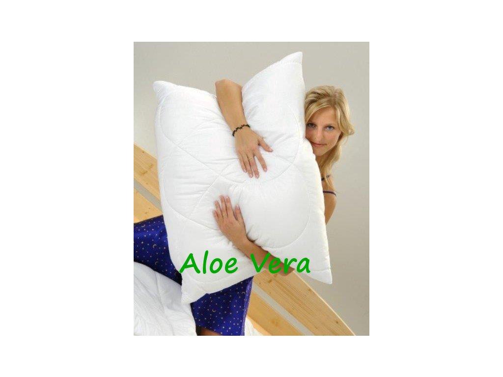 Polštář Aloe Vera 70x90cm 700g se zipem kuličky STANDARD