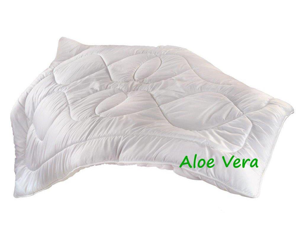 Prodloužená přikrývka Thermo Aloe Vera 140x220cm zimní 1850g