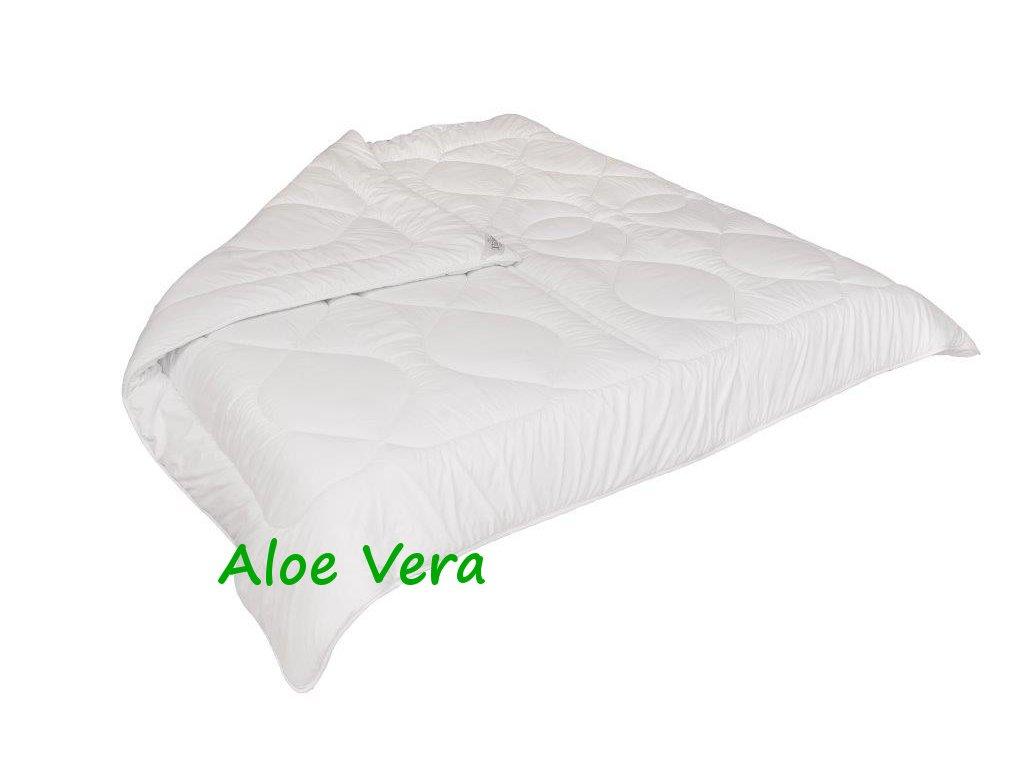 Francouzská přikrývka Aloe Vera letní 240x220cm 790g