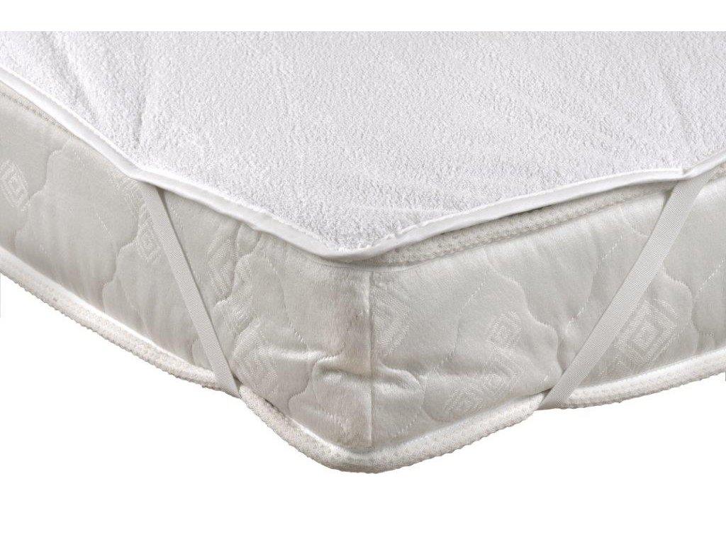 Chránič matrace nepropustný 140x200cm PVC + froté