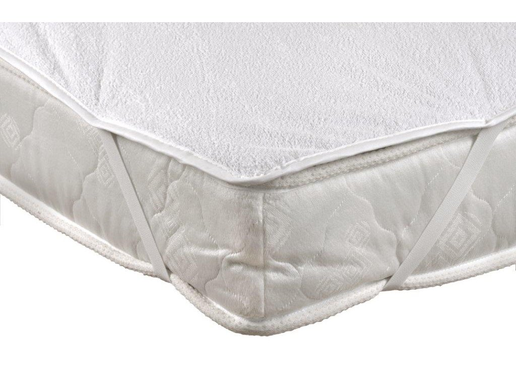 Chránič matrace nepropustný 200x220cm PVC + froté