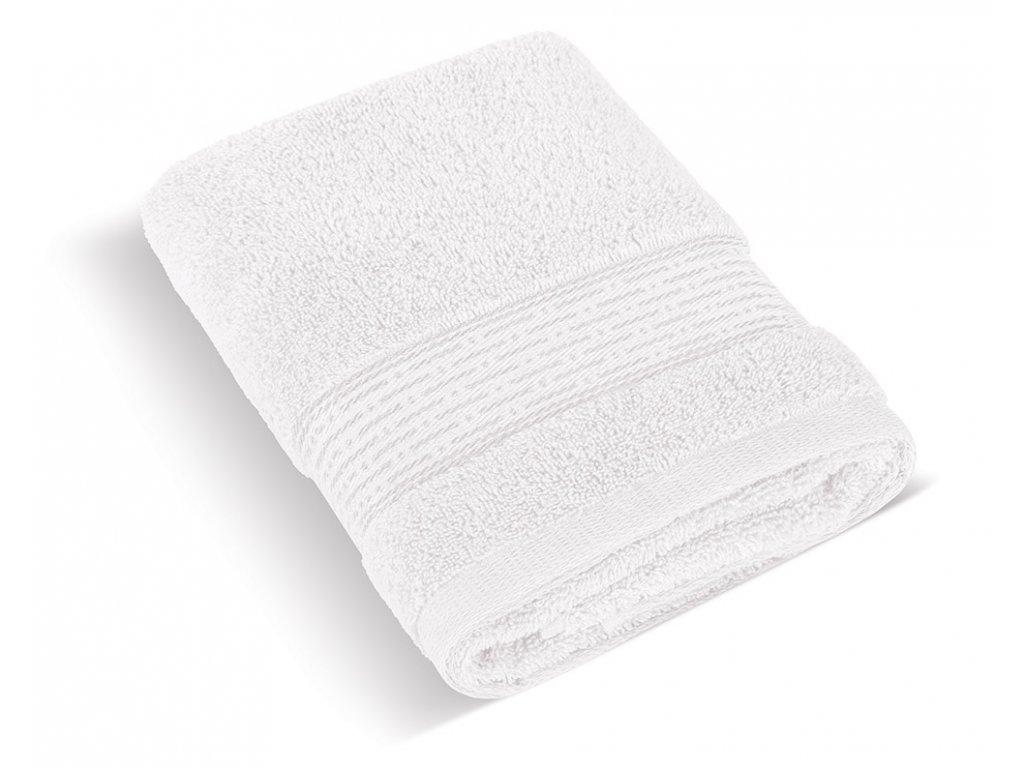 Froté ručník 50x100cm proužek 450g bílá