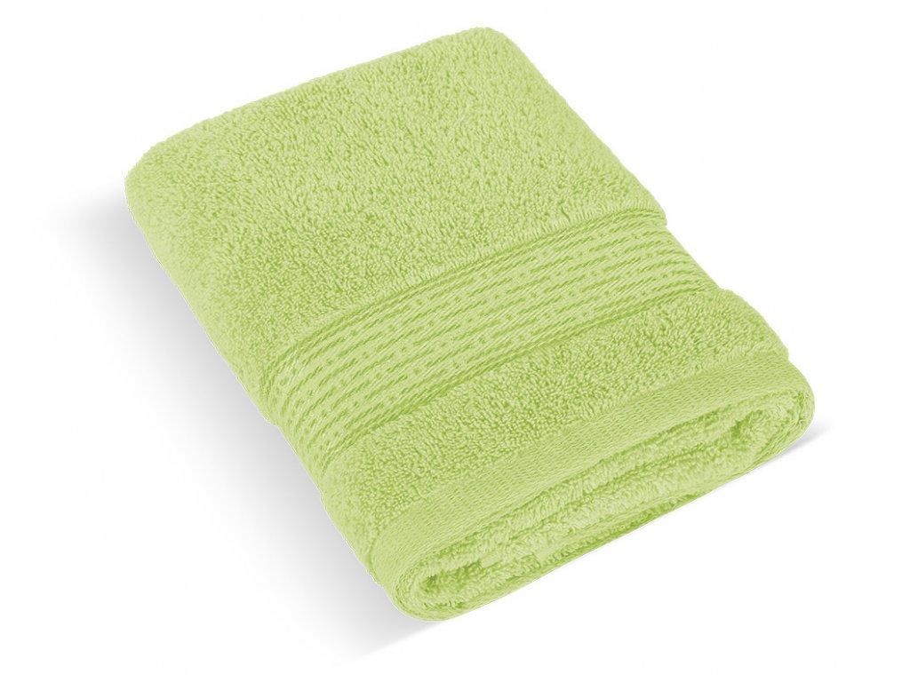 Froté ručník 50x100cm proužek 450g sv.zelená