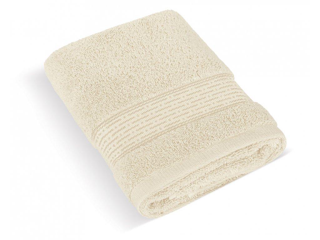 Froté ručník 50x100cm proužek 450g béžová