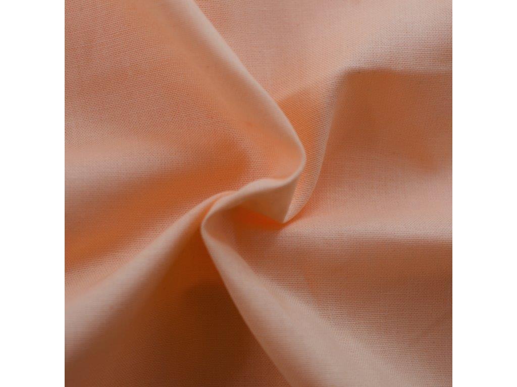 Napínací prostěradlo bavlněné 90x200cm meruňkové