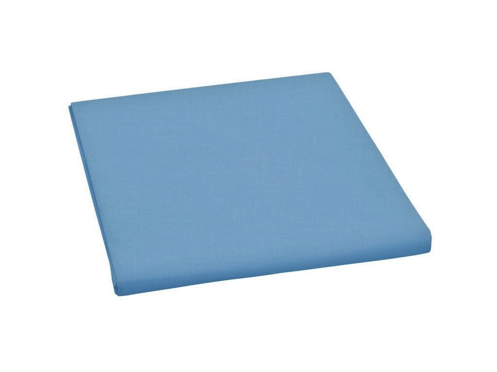 Prostěradlo bavlněné dvojlůžkové 240x230cm modré