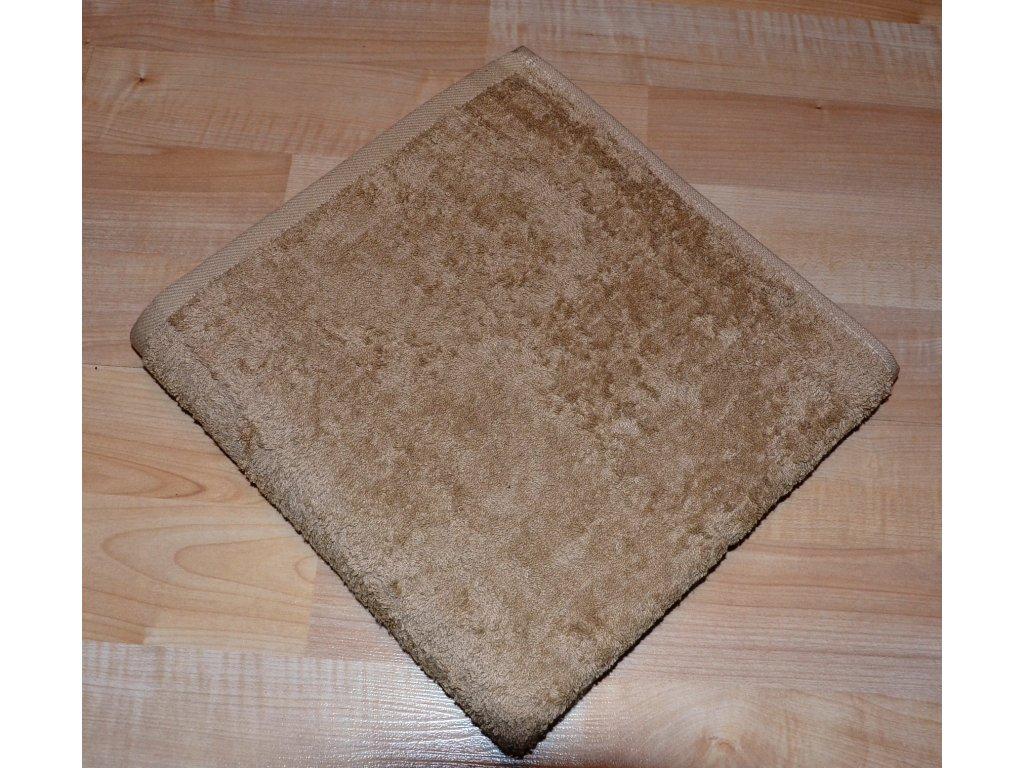 Froté ručník 50x100cm bez proužku 450g béžový