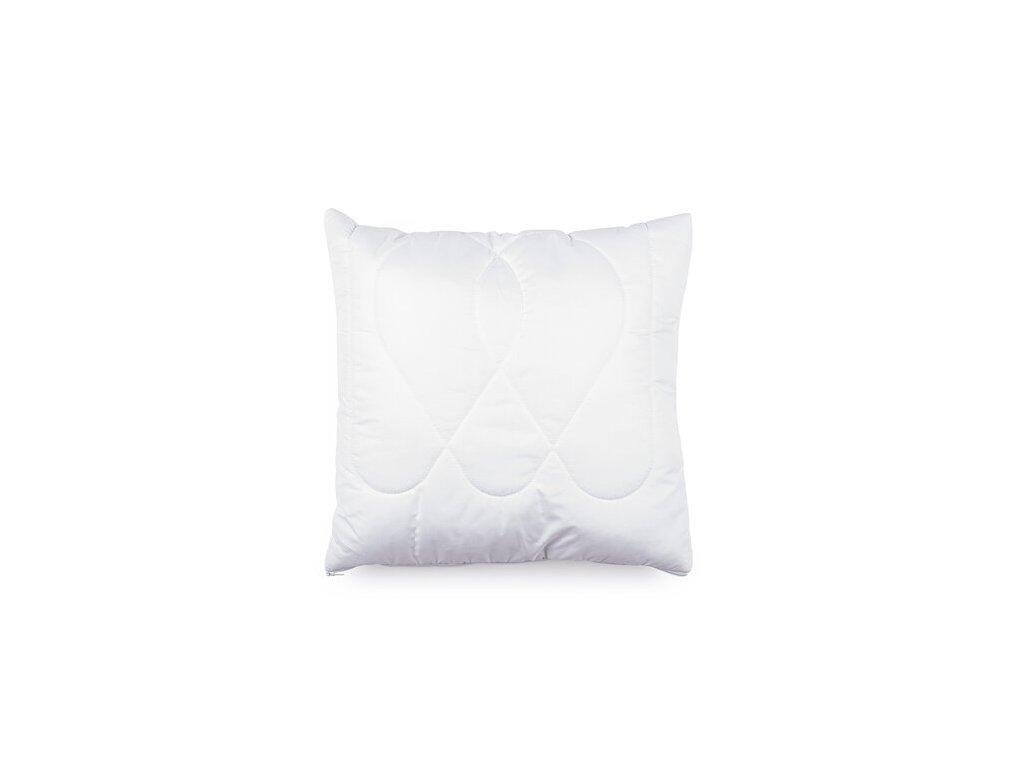 Polštář Luxus plus 40x40cm zip, Barva: Bílá