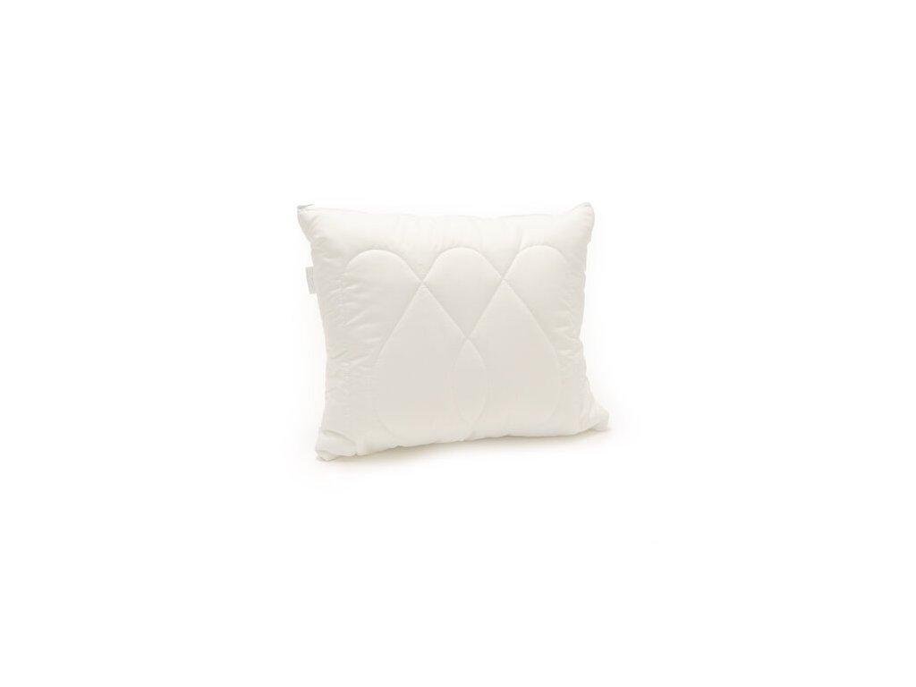 Polštář Luxus plus 50x70cm zip, Barva: Bílá
