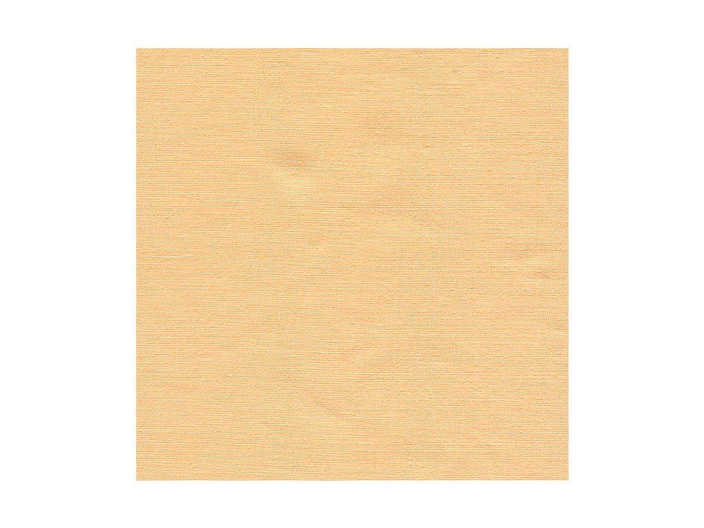 Povlečení bavlna UNI 140x200, 70x90cm Meruňková, Výběr zapínání: