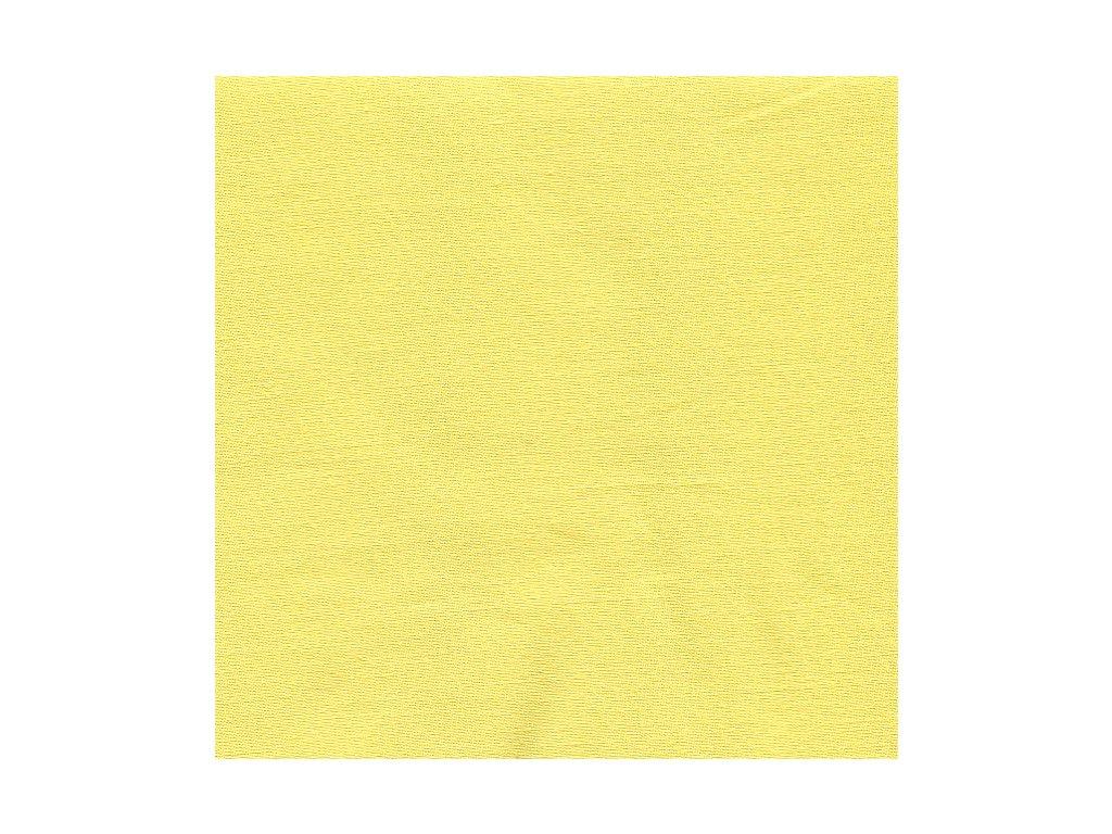 Prodloužené povlečení bavlna UNI 140x220, 70x90cm Sytě žlutá, Výběr zapínání: