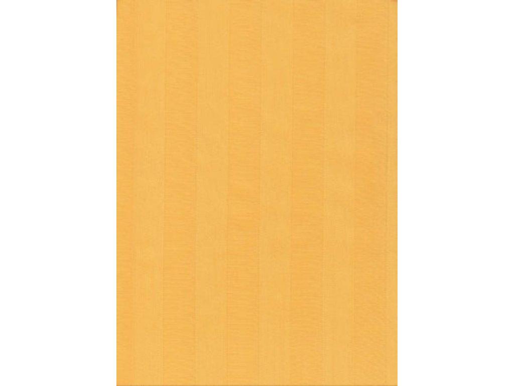 Povlečení Atlas gradl 140x200, 70x90cm Sytě žluté, Výběr zapínání: