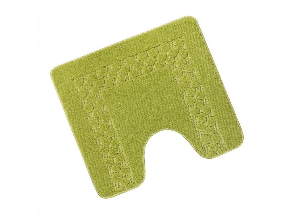 Předložka před WC 60x50cm Rám zelený