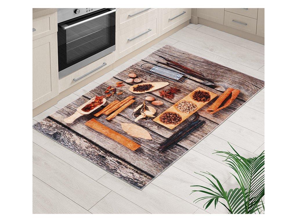 Koberec běhoun 3D 80x120cm řecký stůl