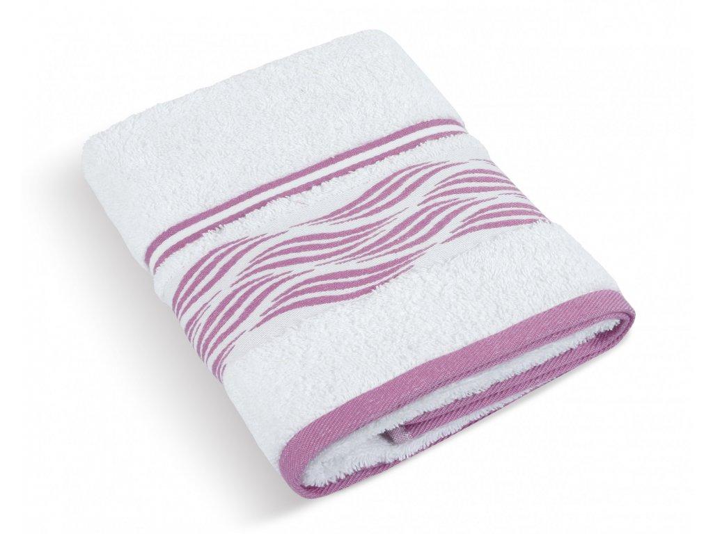 Froté ručník 50x100cm 480g vlnka bílá