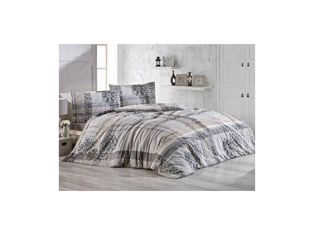 Povlečení francouzské bavlna 220x200,70x90 Lady natur, Výběr zapínání: zipový uzávěr