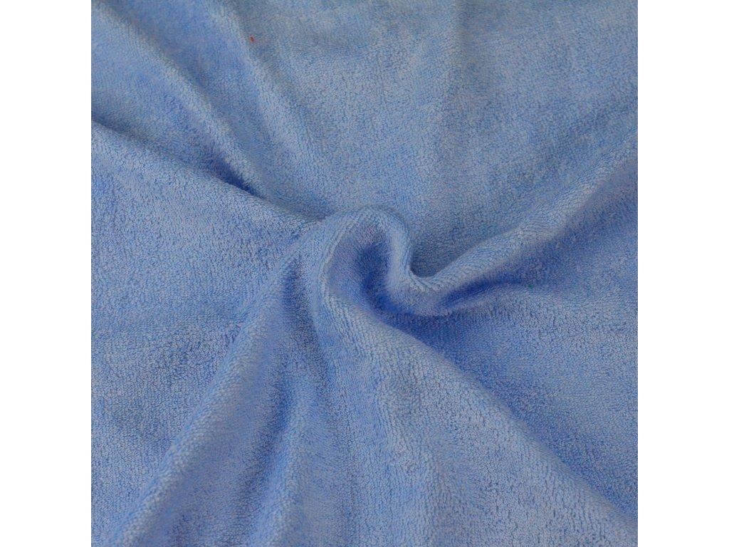 Froté prostěradlo světle modré, Výběr rozměru