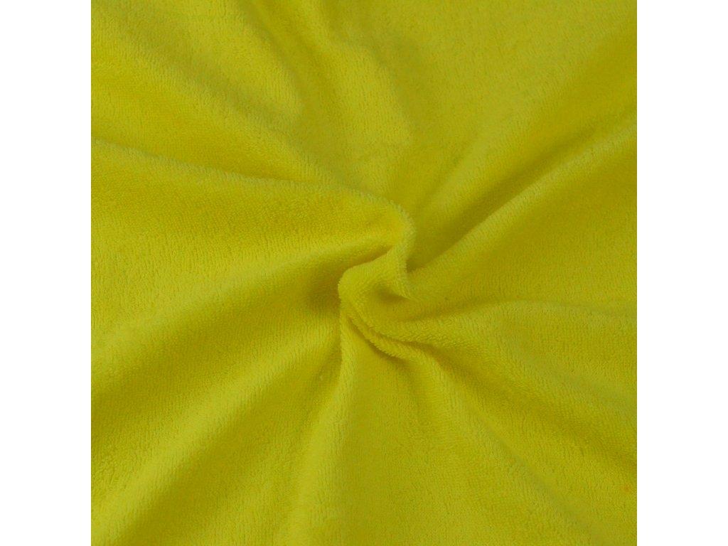 Froté prostěradlo citron, Výběr rozměru