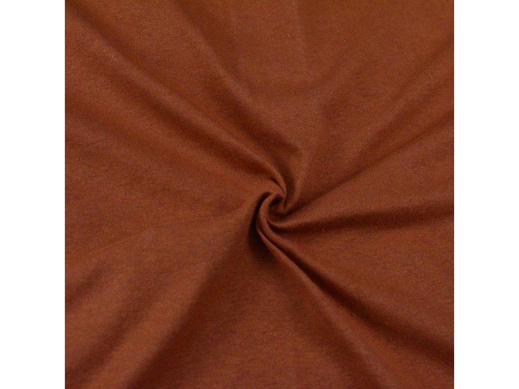 Jersey prostěradlo hnědé, Výběr rozměru