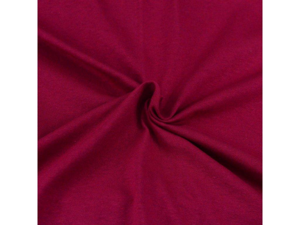 Jersey prostěradlo vínové, Výběr rozměru