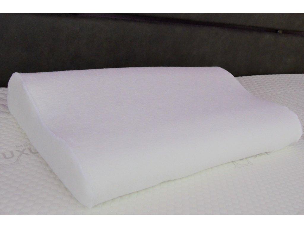 Polštář z paměťové pěny VISCO 40x60 cm, Výběr povlaku: Povlak z