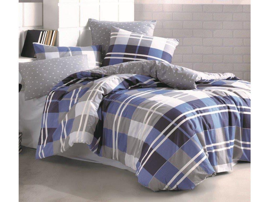 Prodloužené povlečení bavlna 140x220, 70x90cm Grand DUO, Výběr zapínání: zipový uzávěr
