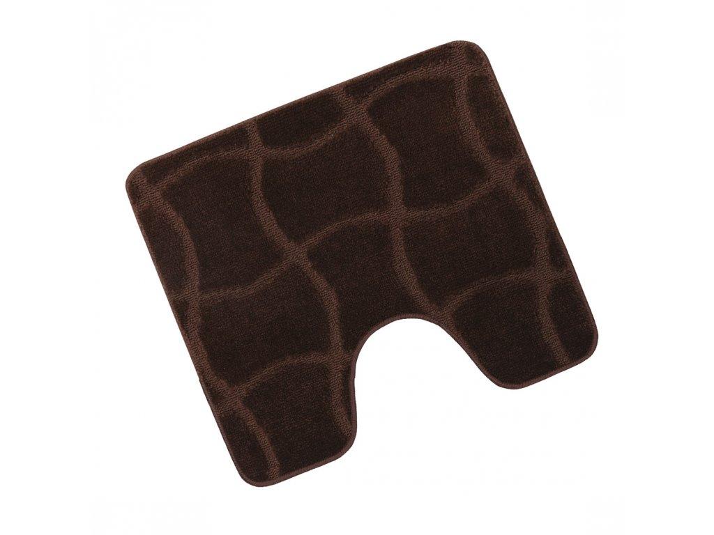Předložka před WC 60x50cm Čokoláda hnědá