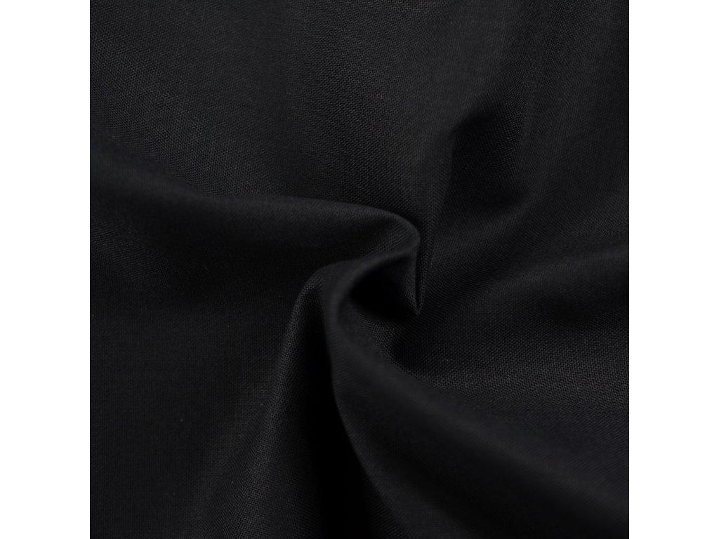 Napínací prostěradlo bavlněné 180x200cm černé
