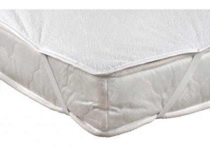 Chránič matrace nepropustný 80x200cm PVC + froté